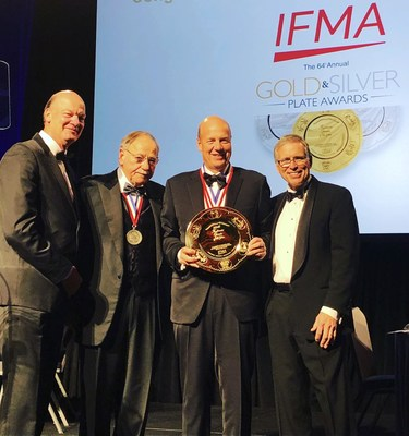 The International Foodservice Manufacturers Association Presents the 64th Annual Gold Plate Award to Gene Lee, President and Chief Executive Officer, Darden Restaurants.