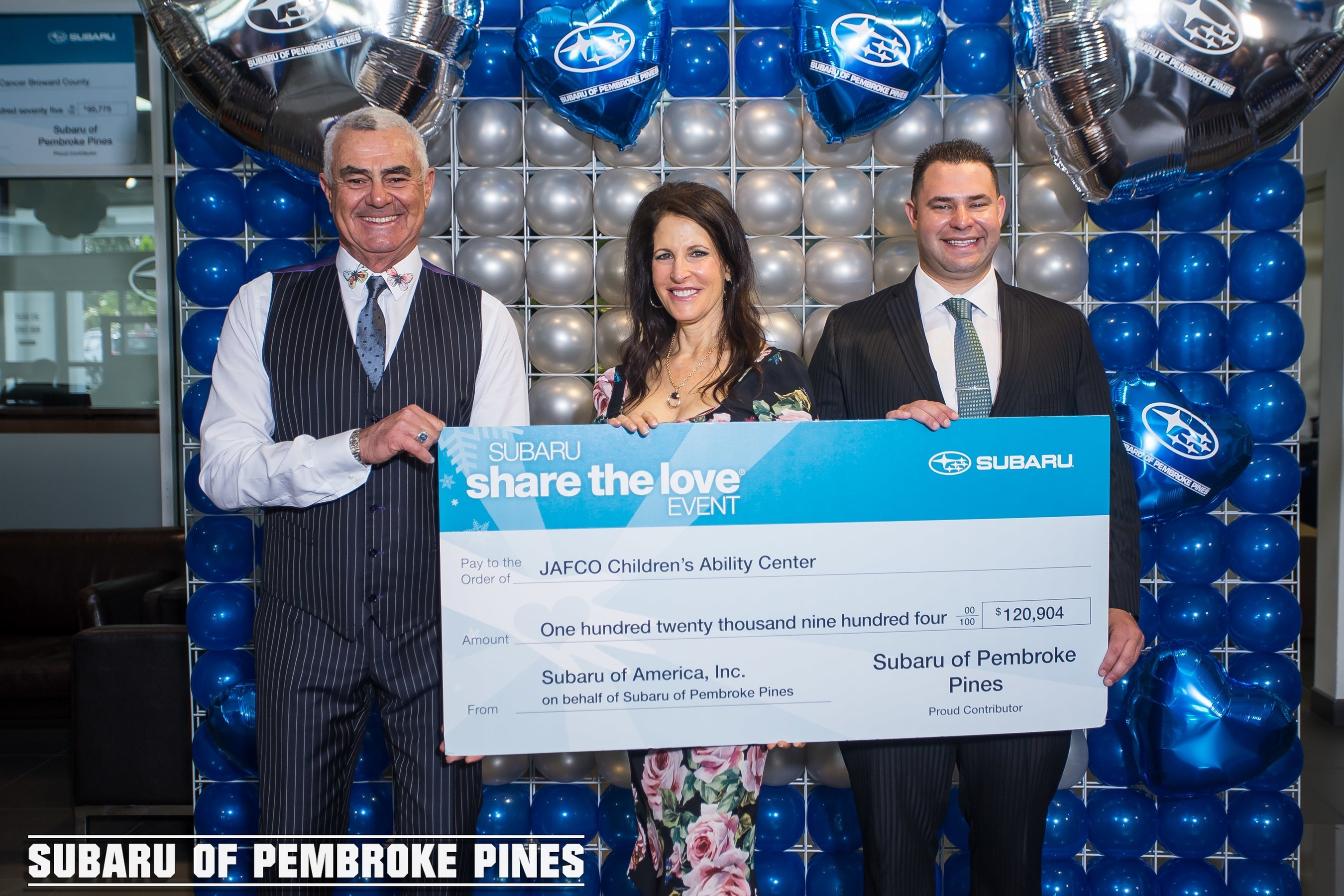 Subaru Of Pembroke Pines >> Subaru Of Pembroke Pines And Craig And Martine Zinn Host Annual