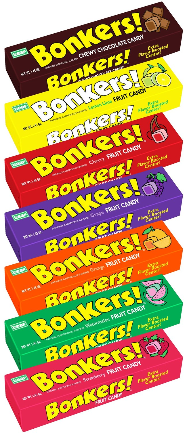 Bonkers! ® Fruit Chews are Back!