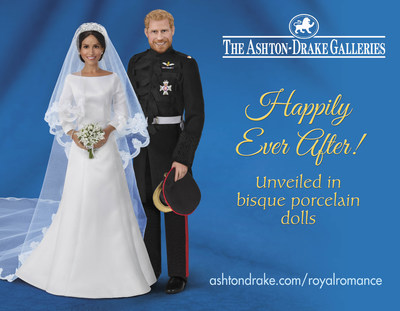 The Ashton-Drake Galleries Introduces Harry and Meghan - the Royal Romance Wedding Dolls