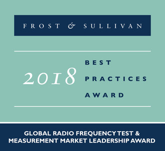 Keysight Technologies Honored by Frost & Sullivan for its Revenue Leadership in the Global RF Test and Measurement Market