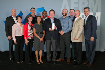 LyondellBasell's Bayport Complex team received the American Fuel and Petrochemical Manufacturers' Distinguished Safety Award, the industry's highest achievement in safety excellence. The Bayport Complex was one of only three manufacturing sites in the country to receive the honor.