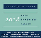 Frost & Sullivan has recognized Teleperformance with the 2018 Global Competitive Strategy Innovation and Leadership Award.