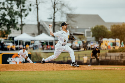 Southern Miss pitcher Nick Sandlin, one of the top pitchers in the country, won the 2018 C Spire Ferriss Trophy Monday, which is conferred annually to the top college baseball player in Mississippi.