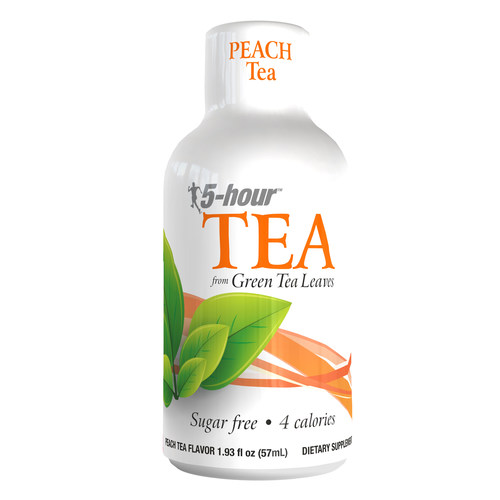 Introducing 5-hour™ TEA shots, available now in peach tea flavor.  Just like 5-hour ENERGY® shots, 5-hour™ TEA shots are quick, simple, and made for hard-working people.