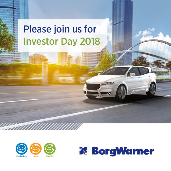 (PRNewsfoto/BorgWarner Inc.)
