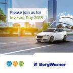 BorgWarner to Host Investor Day on September 18, 2018