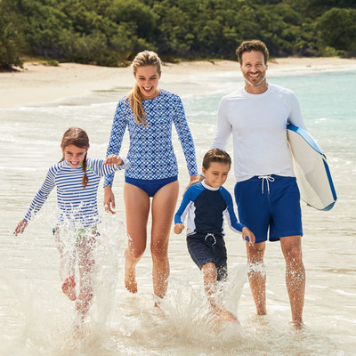 The unofficial kick-off to summer is just around the corner, and to help everyone gear up for a fabulous weekend, Lands' End is once again celebrating National Swimsuit Day today, May 22, 2018.
