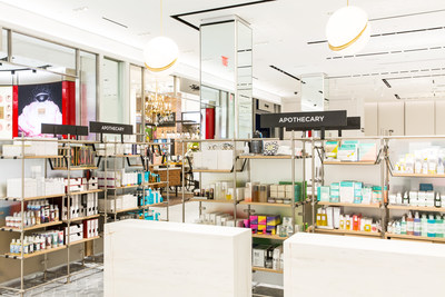 Apothecary at Saks Fifth Avenue New York, Beauty on 2 (Courtesy of Justin Bridges for Saks Fifth Avenue)