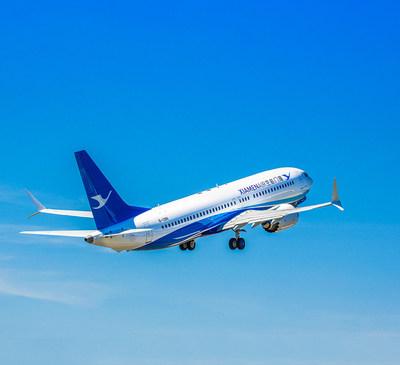 Xiamen Airlines recibe su primer Boeing 737 MAX, ampliando su flota a 200 aviones