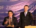 Friends of Zion Awards Paraguayan President Horacio Cartes at Ceremony at FOZ