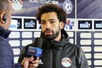 Mohamed Salah with the Wally Smart
