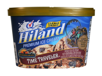 One of the three new flavors that Hiland Dairy has released.