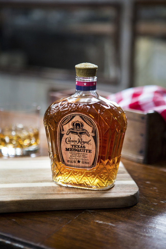Crown Royal pays homage to two great Texas traditions, barbecue and whisky, with the introduction of Crown Royal Texas Mesquite