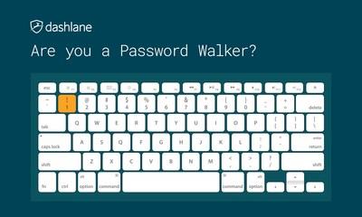 dashlane password walking