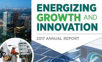 Toronto Hydro's 2017 Annual Report has been released. (CNW Group/Toronto Hydro Corporation)