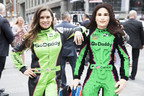 Honoring A Trailblazing Career LEGO Systems Surprises Esteemed Racer Danica Patrick With Life-Size LEGO® Model