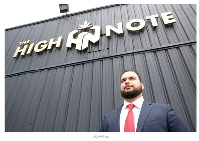Growth Network Solutions' CEO John Jezzini opens second location for The High Note where customers are offered guided tours of the cannabis cultivation facility.