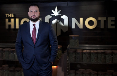 John Jezzini's speakeasy-style Cannabis retail chain The High Note opens second location in Los Angeles.