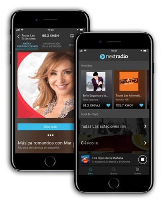 NextRadio® lanza streaming de Radio FM en México