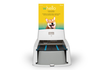 The Wagz™ Serve Smart Feeder can be loaded with any food (7mm or more) including Whello™ smart food boxes that easily snap into the feeder.