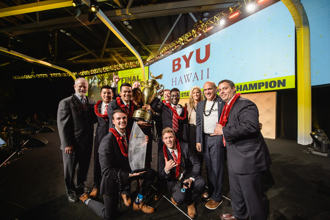 The team from Brigham Young University-Hawaii in Laie, HI, earned $10,000 in prize money and was named the 2018 Enactus United States National Champion at the Enactus United States National Exposition presented by Hallmark Cards, Inc., at the Kansas City Convention Center, Kansas City, MO. As the largest experiential learning platform in the world devoted to entrepreneurial action, Enactus has more than 72,000 student participants on over 1,700 campuses in 36 countries. enactusunitedstates.org