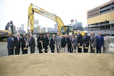 Omni Hotels & Resorts, Governor Baker, Mayor Walsh, Massport and Community Celebrate Breaking Ground on Boston Seaport Hotel