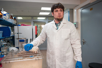 One of the authors of the research, Maxim Abakumov (PRNewsfoto/NUST MISiS)