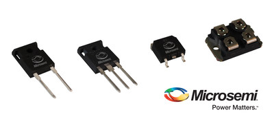 Microsemi Continues to Expand Silicon Carbide Product Portfolios with Sampling of its Next-Generation 1200 V SiC MOSFET and 700 V Schottky Barrier Diode Devices