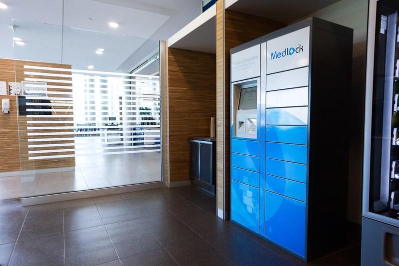 Medlock Locker - Pharmacie Benoît Picard & Karl Desjardins Inc. (CNW Group/Pharmacie Benoît Picard & Karl Desjardins Inc.)