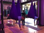 Anti-Gravity Yoga Class Takes Warrior Workouts to New Heights