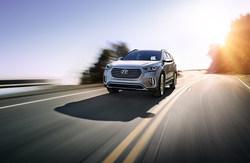 image of the Hyundai Santa Fe, which is available at Coast to Coast Motors.