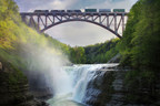 Norfolk Southern and New York State usher in a modern era for freight rail with dedication of new railroad bridge - the Genesee Arch Bridge