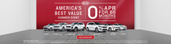 flyer for the sales event happening at Serra Gardendale Kia