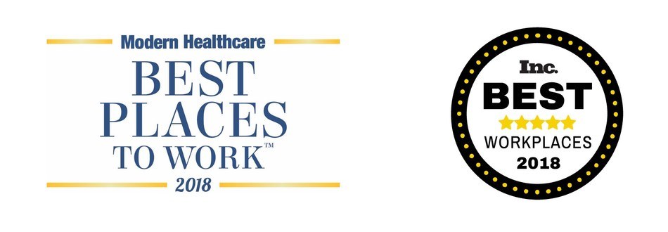 Inc. Magazine and Modern Healthcare Honor pMD as 2018 Best Places to Work