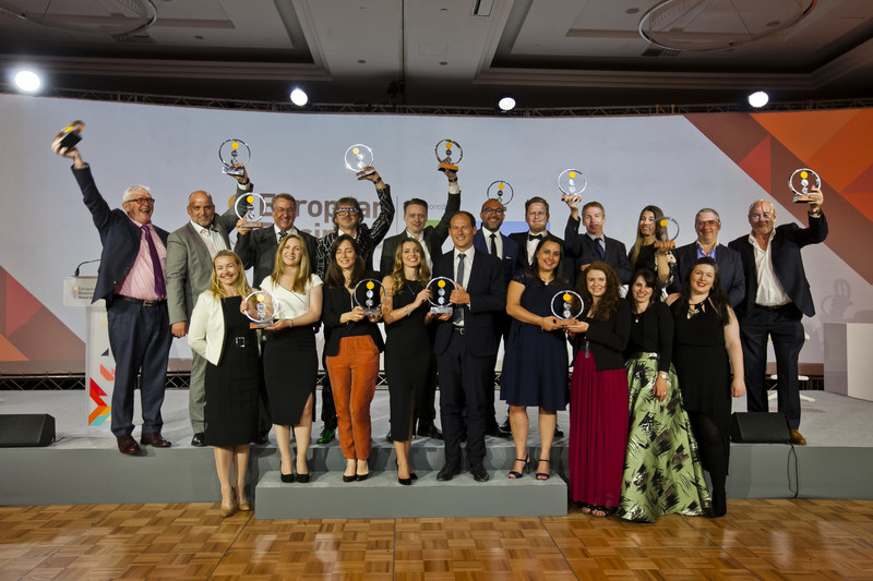 European Business Awards Winners in Warsaw, Poland (PRNewsfoto/European Business Awards and RSM)