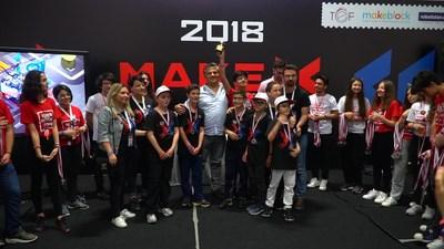 2018 MakeX Turkey Primary School Winner Team: Kodla Ardahan Robust Jr.