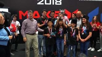 2018 MakeX Turkey Middle School Winner Team: Kodla Ardahan