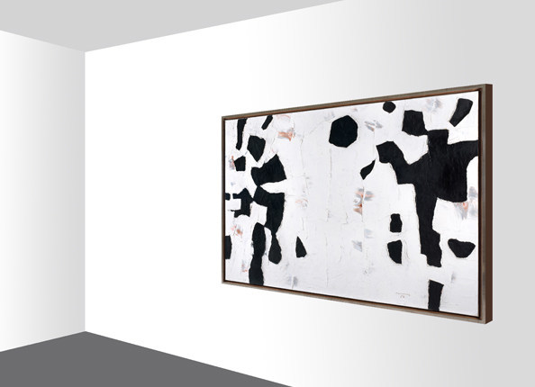 For the first time in Canada, Heffel launches a virtual reality experience to reach international collectors for the sale of Figures schématiques, a masterpiece canvas by Paul-Émile Borduas (estimate: $3,000,000 – 5,000,000) (CNW Group/Heffel Fine Art Auction House)