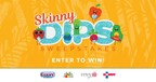 Skinny Dips Sweepstakes, presented by California Giant Berry Farms, Good Foods, Envy Apples, and Dandy.