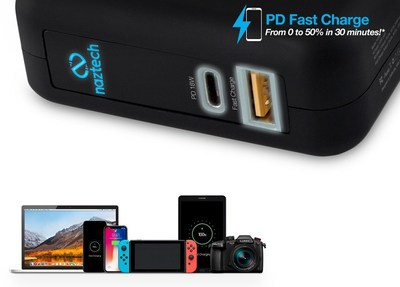 Engineered with a specialized PD chipset to support up to 18 watts of high voltage charging power for the fastest and most efficient charging experience