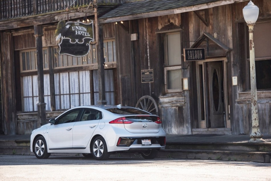 2019 Hyundai Ioniq Line Adds Safety Features, Infotainment