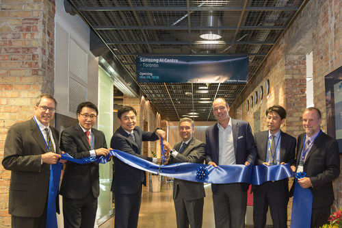 Samsung Launches AI Centre in Toronto (CNW Group/Samsung Electronics Canada Inc.)