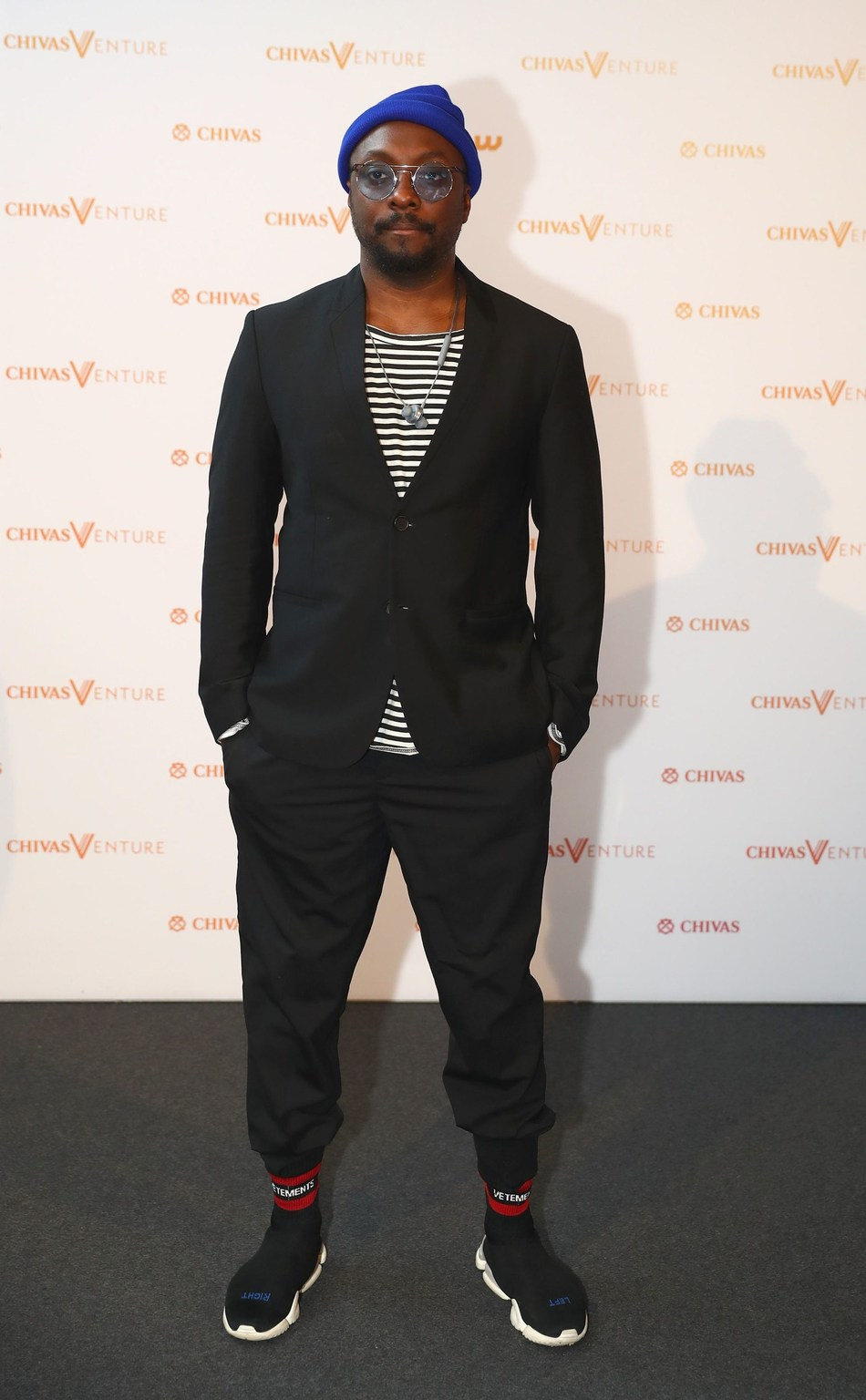 will.i.am attends Chivas Venture 2018 - Chivas Regal's global competition that gives away $1 million in no-strings funding every year to the world's most promising social startups on May 24, 2018 in Amsterdam, Netherlands. (PRNewsfoto/Chivas Venture)