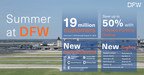 Record Number of Summer Travelers Will Find Hot Deals and Cool Treats at Dallas Fort Worth International Airport