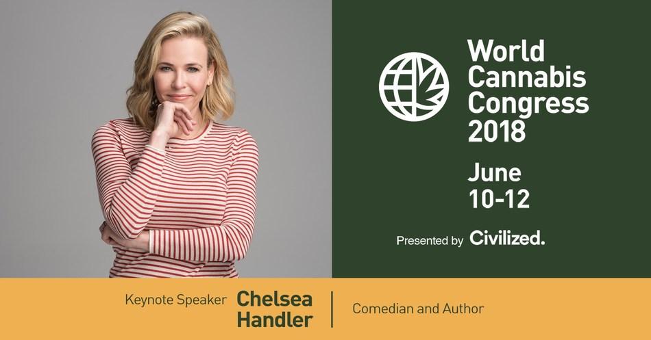 World Cannabis Congress announces keynote speaker Chelsea Handler (CNW Group/Civilized Worldwide Inc. (Civilized))