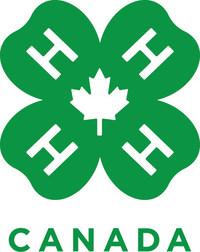 Logo: 4-H Canada (CNW Group/4-H Canada)