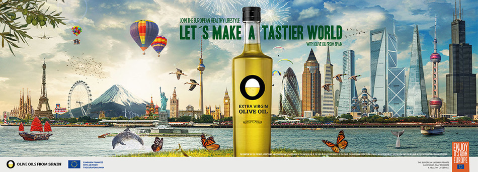 """Olive oils from Spain and the European Union launch """"Olive Oil World Tour"""", a new global promotion strategy (PRNewsfoto/Olive Oils from Spain)"""