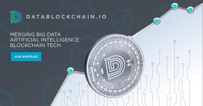 Merging Big Data, AI & Blockchain Technology. (PRNewsfoto/DataBlockChain, Ltd)