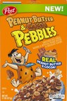 Post Premieres Peanut Butter & Cocoa Pebbles™ Cereal